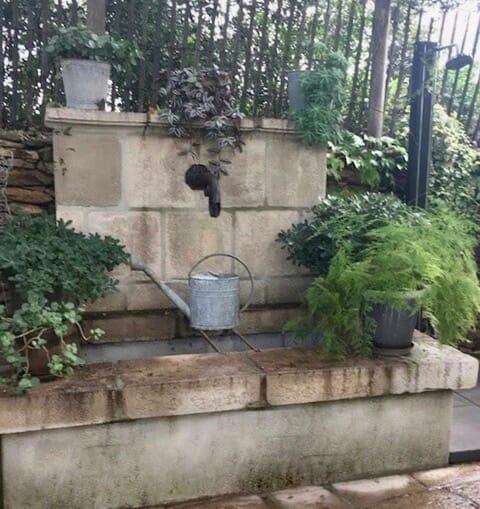 margelle piscine et bassin façon vieille pierre